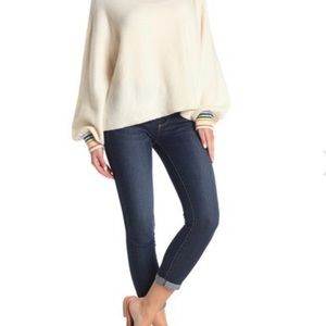 Paige Cuffed Cropped Skinny Jeans Kylie Crop 29